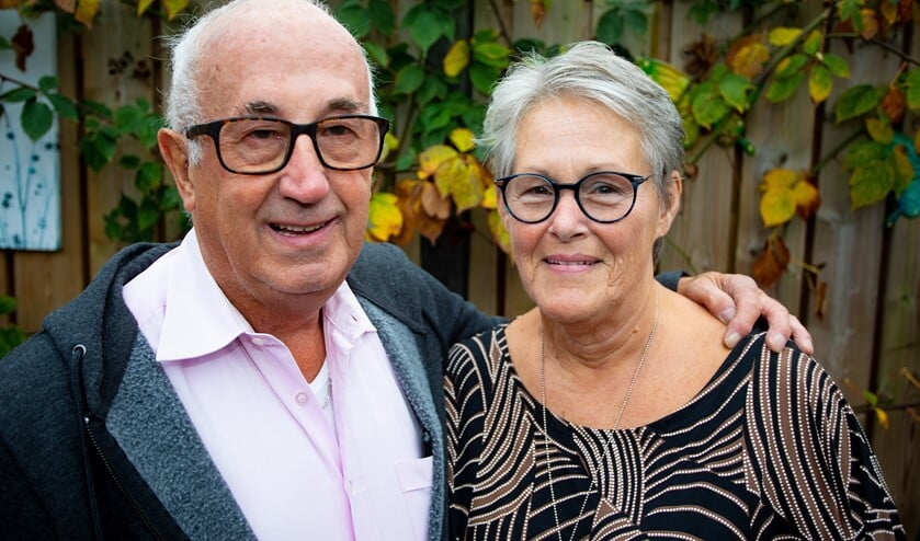 Ruud en Corrie vieren hun gouden bruiloft.