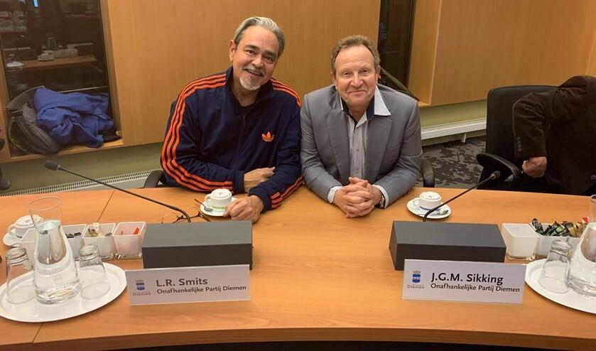 Leo Smits en Jan Sikking.