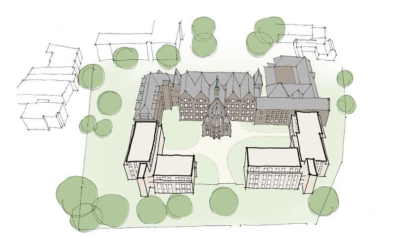 Impressie van het klooster.
