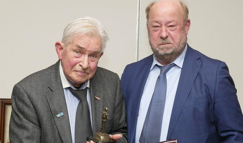 Johan Weiss (l) en Jos van Dijk.