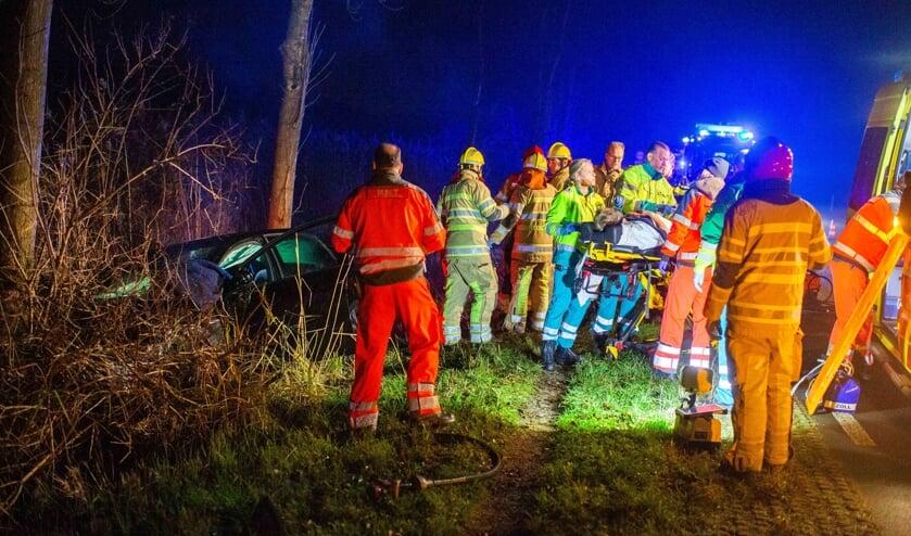 Ongeval Vreelandseweg N201 Kortenhoef