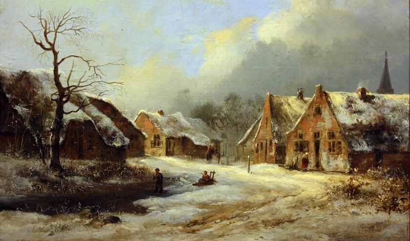 Een schilderij van Frederik Marinus Kruseman uit 1835 uit de collectie van de gemeente Hilversum.