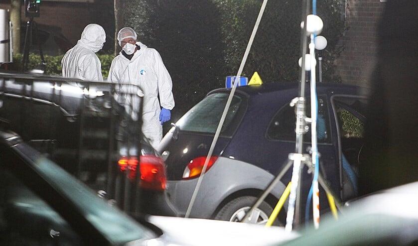 Het onderzoek kwam na de moord direct op gang.