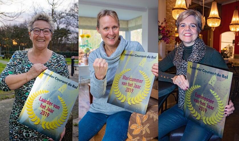 Berber van der Weg, Linda Eggenkamp en Belinda Huiden zijn de BEL'ers van het Jaar.