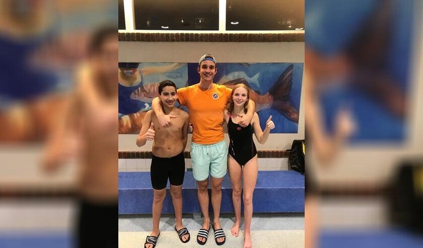 De drie medaillewinnaars.