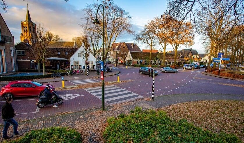 Voor het centrum van Laren is een nieuw bestemmingsplan gemaakt.