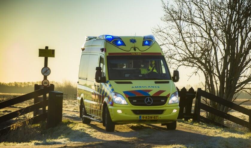 Bij spoed moet de ambulance binnen een kwartier ter plaatse zijn, ook in het buitengebied.