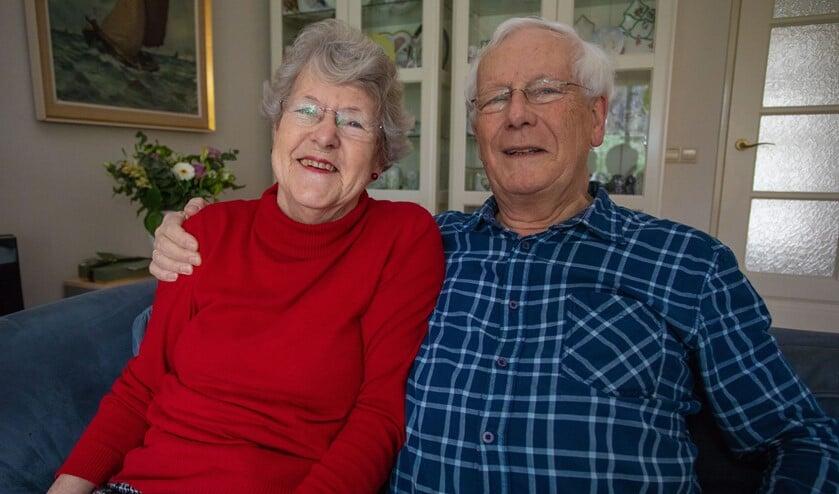 Ella en Dirk hebben hun gouden bruiloft uitgebreid gevierd.