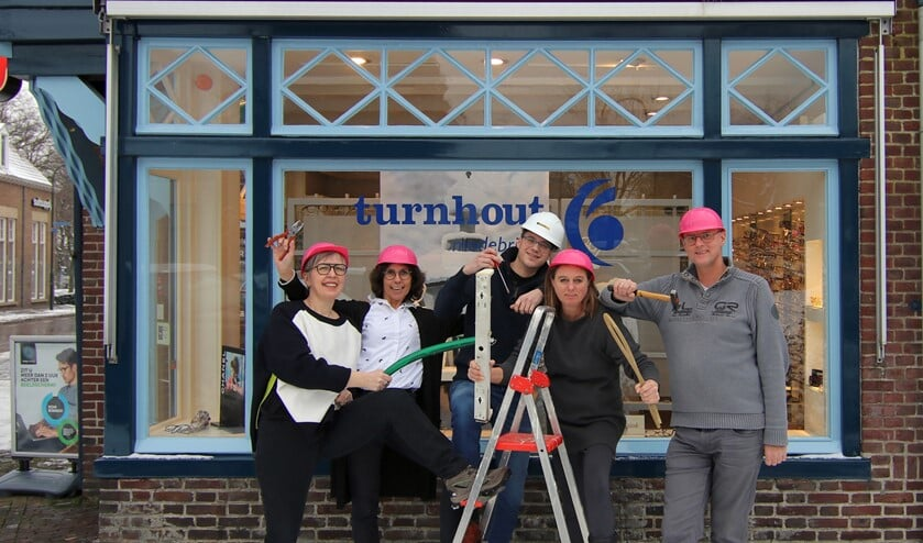 Het team van Oogwereld Turnhout.