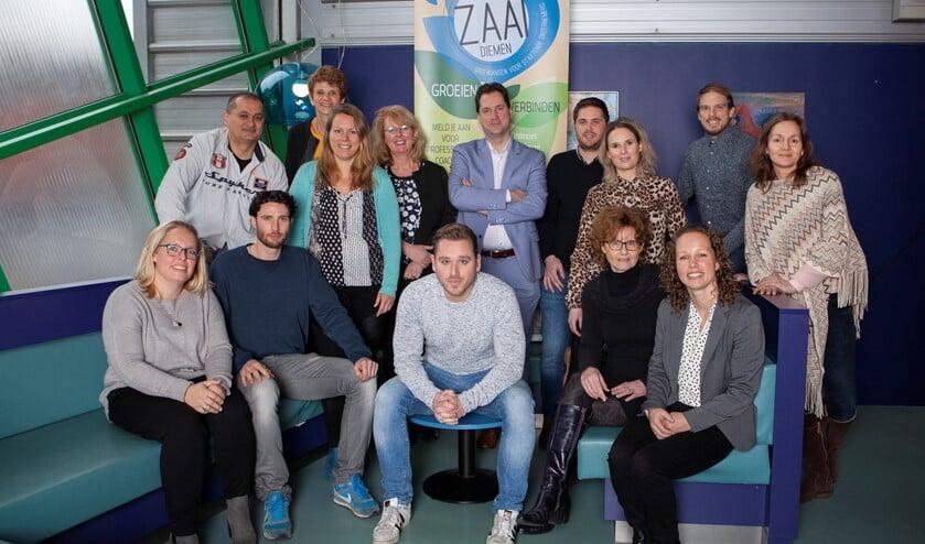 Deelnemers aan ZAAI in 2019.