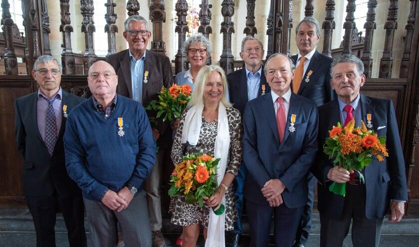 Deze mensen kregen vandaag allemaal een Koninklijke Onderscheiding