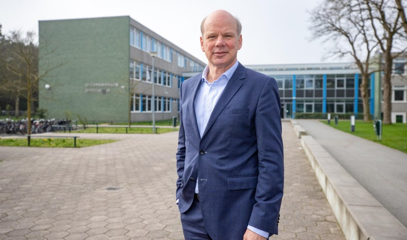 """Johan Veenstra: """"Als er wat aan de hand is, moet het onderwijs zich laten zien."""""""