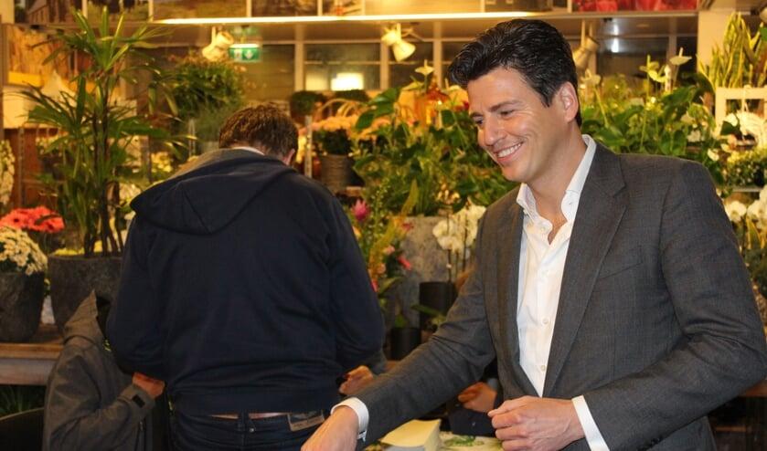 De stembus in Castricum ging al om 0.00 uur open.