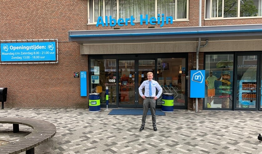 Supermarktmanager Diederik Troost.