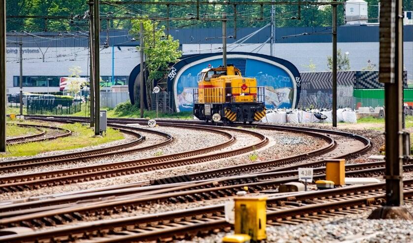 In Paters plan schuift het centraal station enkele honderden meters op naar het zuiden.