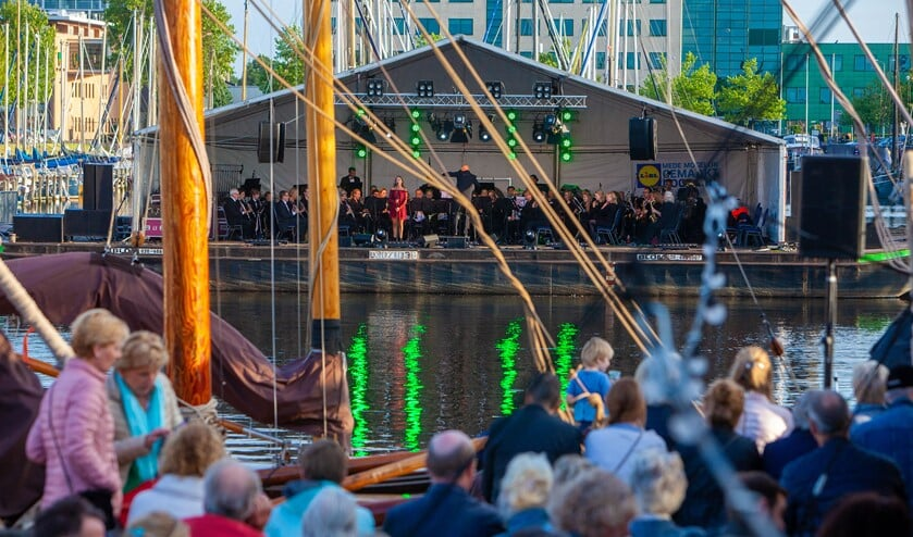 Prinses Irene genoot vorig jaar van het concert op het water en treedt dit jaar op voor De Krachtcentrale.