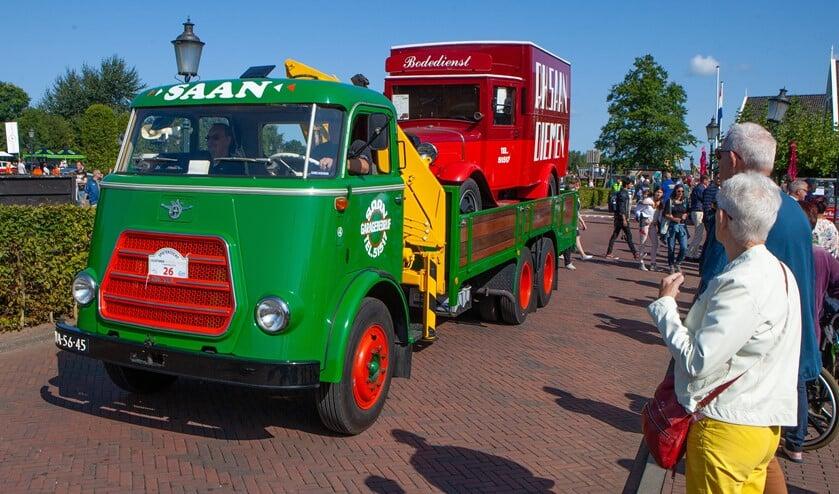 Net als vorig jaar komen er ook weer een aantal oldtimer vrachtauto's naar het festival.