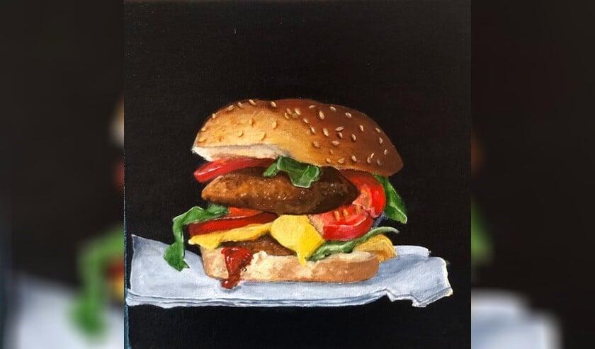 'Broodje hamburger' van Clare Varwick.