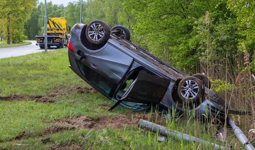 De veroorzakers van dit ongeval mishandelden een agent in burger.