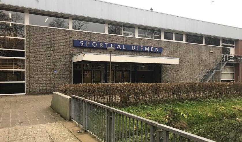 Gemeente trekt geld uit voor nieuwe sporthal naast Sporthal Diemen.