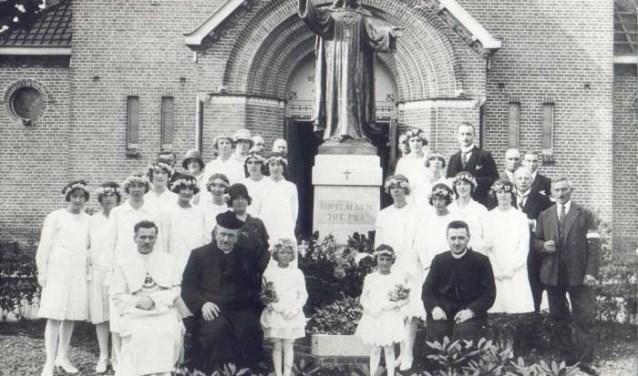 Foto uit het archief van de kerk.