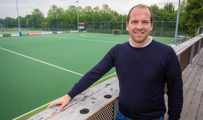 David ten Hove is de nieuwe trainer van Dames 1.