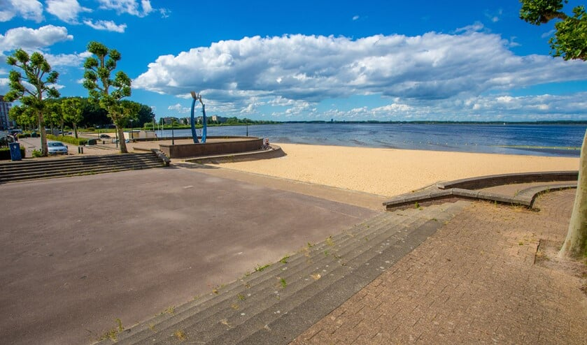 Een zwemvoorziening hier aan de Wedekuil kan na een besluit er al na een jaar zijn.