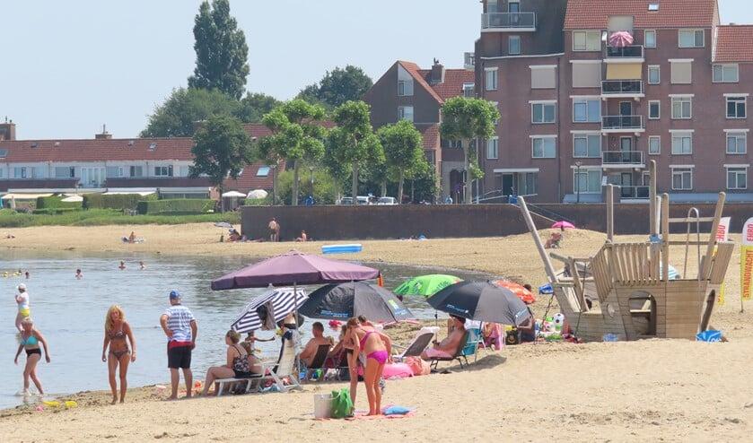 Het is zelfs te heet om naar het strand te gaan.