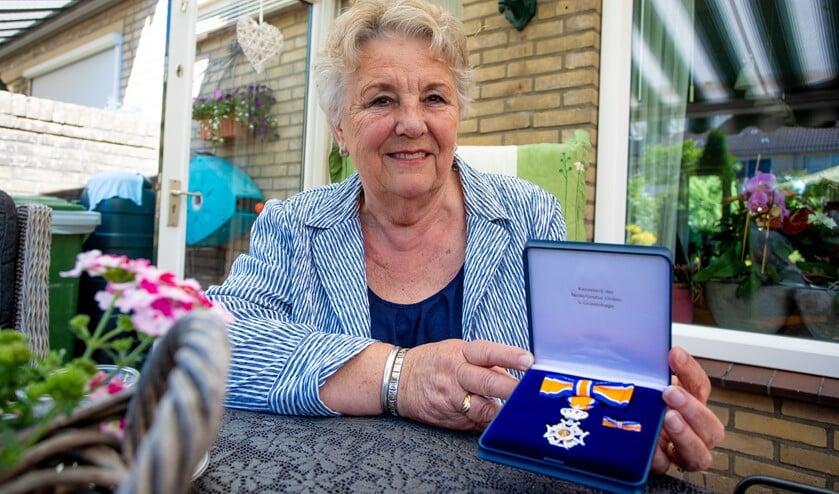 Lidy Kouwenhoven bleef na haar pensioen actief binnen de Martha en Maria parochie en ontving dit jaar een lintje.