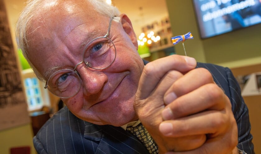 Jan Rinzema zoekt de verbinding in de samenleving en kreeg voor zijn grote inzet een lintje.