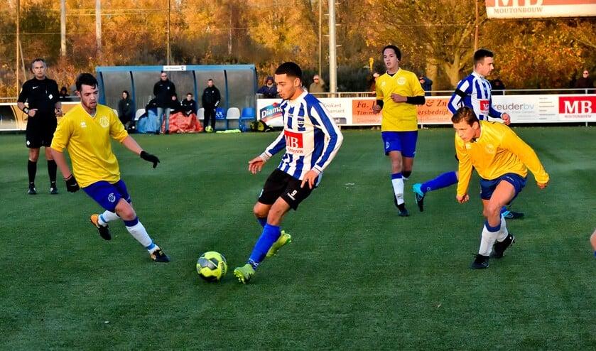 SV Diemen speelt opnieuw tegen SV Ouderkerk.