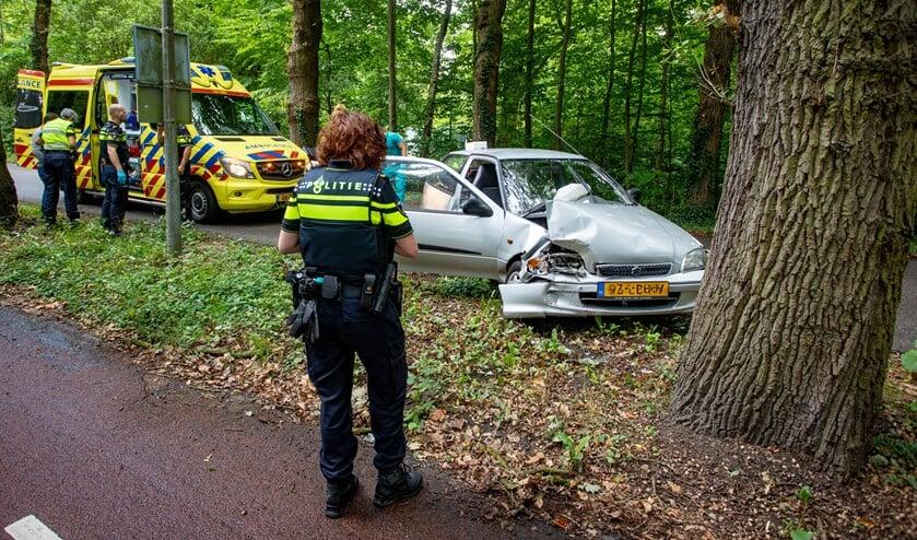 Politie en ambulance kwamen snel ter plekke.