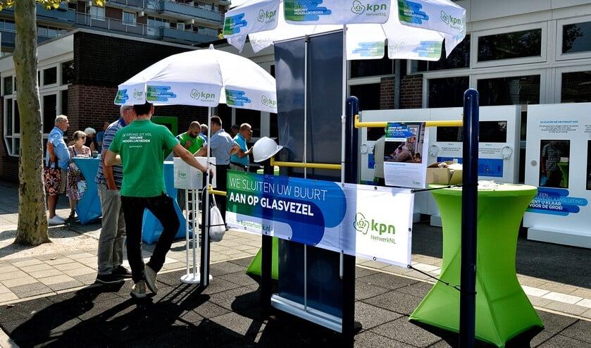 Vorig jaar gaf KPN informatie over glasvezel in Diemen-Zuid.