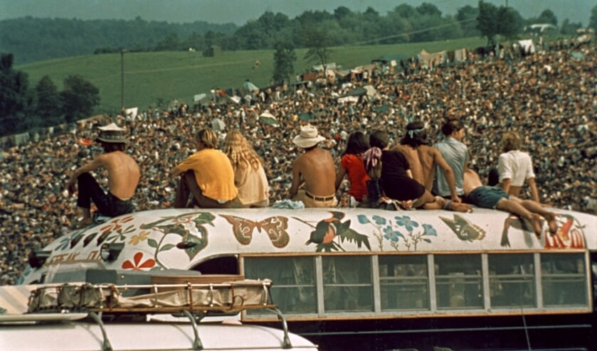Precies vijftig jaar geleden dat Woodstock werd gehouden.