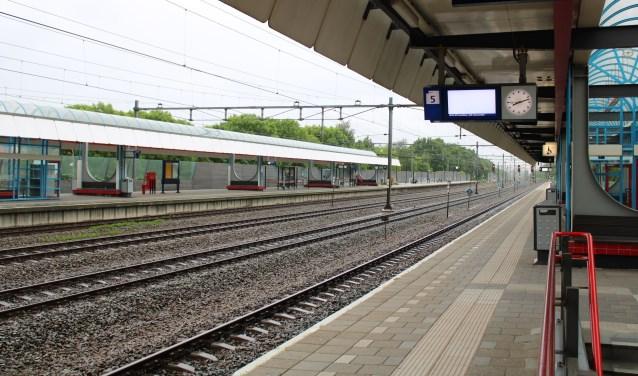 Soms rijden er geen treinen in een bepaalde richting en worden er bussen ingezet.