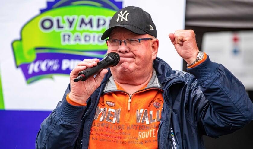 Henk Wijngaard donderdag op het Media Park.