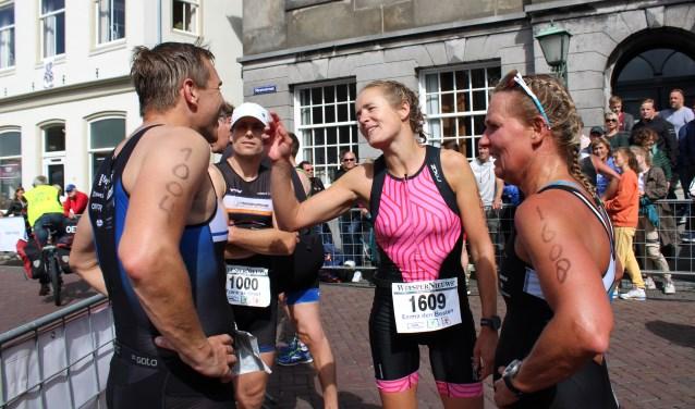 Barry Dooper, Frank de Graaf, Emma den Besten en Paula van der Pouw: de vier snelste Weespers.