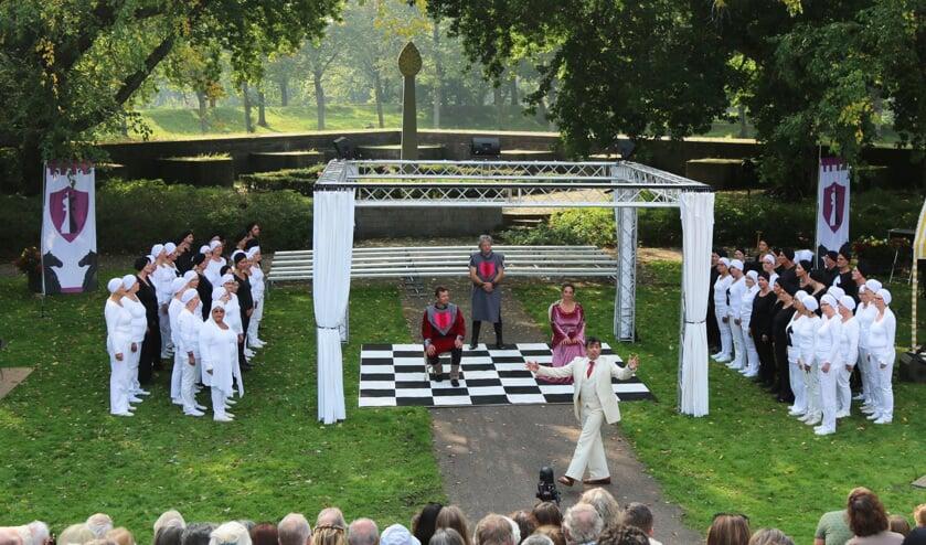 """Twee jaar geleden was er een uitvoering van de opera """"Queen Arthur'."""