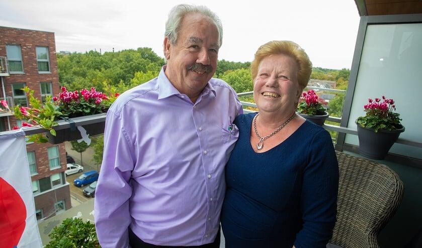Harry en Lia Frijmuth vieren vandaag hun 50-jarige bruiloft.