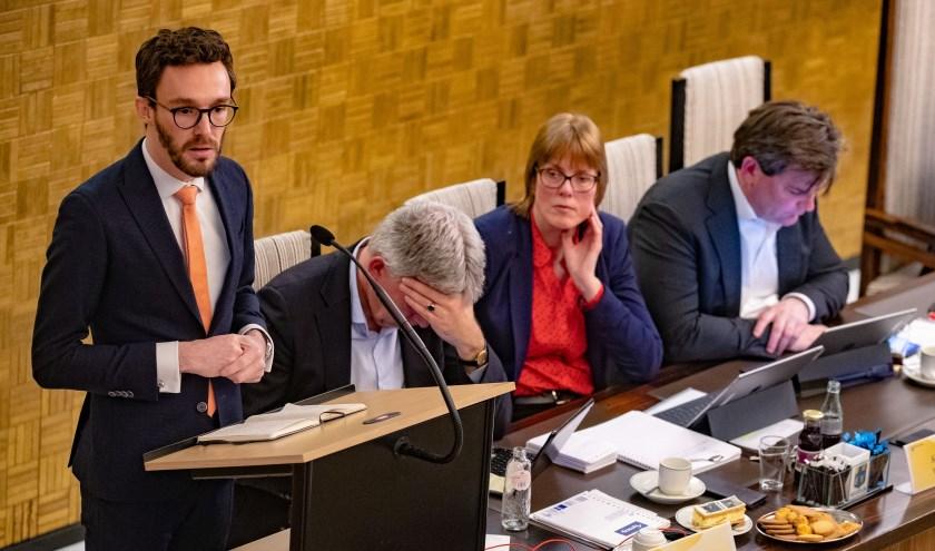 Wethouder Arno Scheepers.