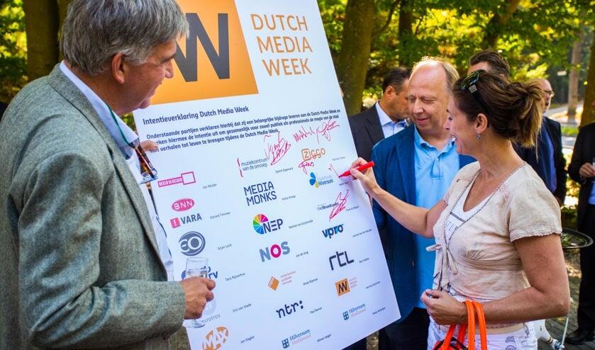 In 2016 hebben veel partijen zich verbonden aan de Dutch Media Week.