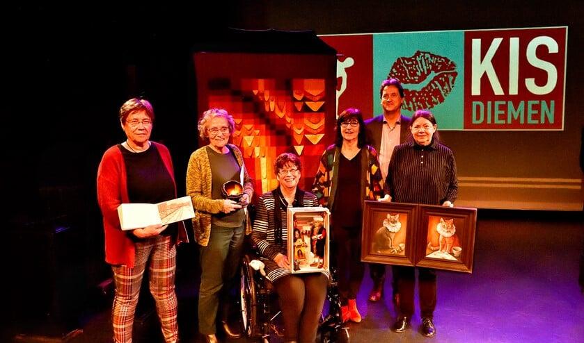 winnaars kunstenaars,