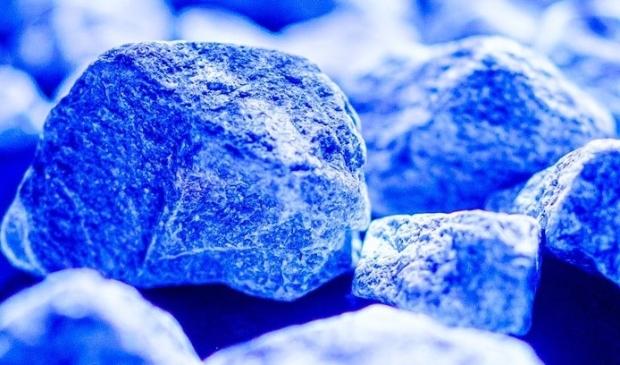 Stenen vormen monument.