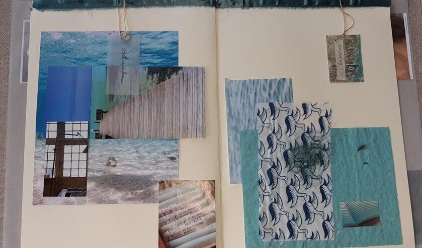 Kunstwerk 'Coupe Naturel' van re-art kunstenares Ylva Ibsen.