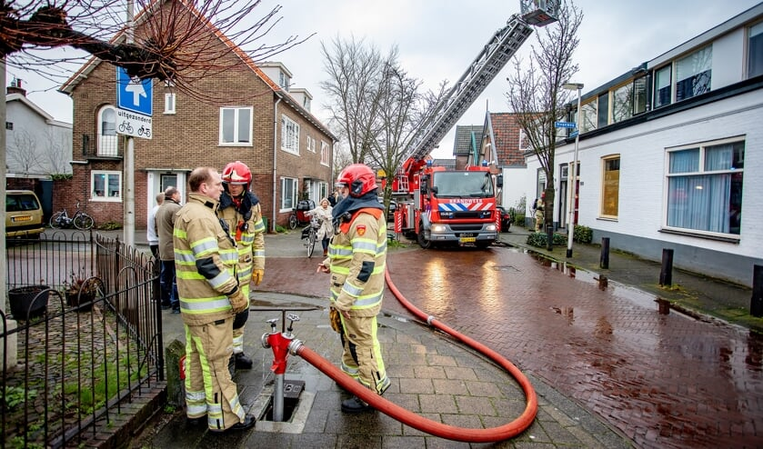 Brand was snel onder controle.