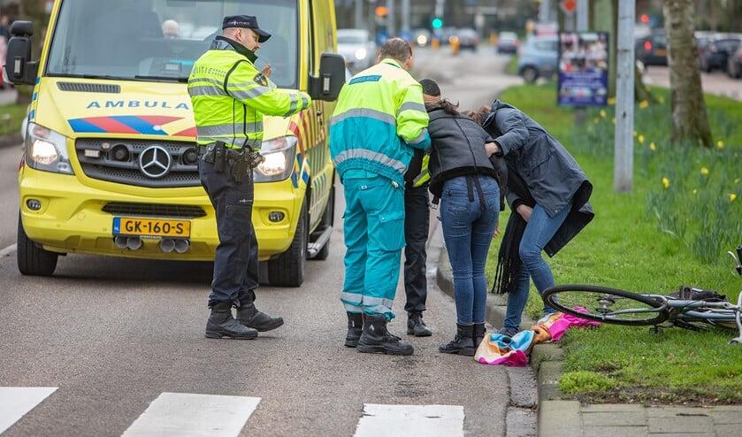 Een meisje werd vanmiddag aangereden ter hoogte van de oversteekplaats op de Karel Doormanlaan.