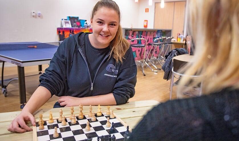 Jongerenwerker Michelle Gantzert is nieuw in De Malbak.