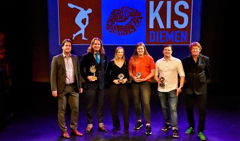 winnaars sporters,