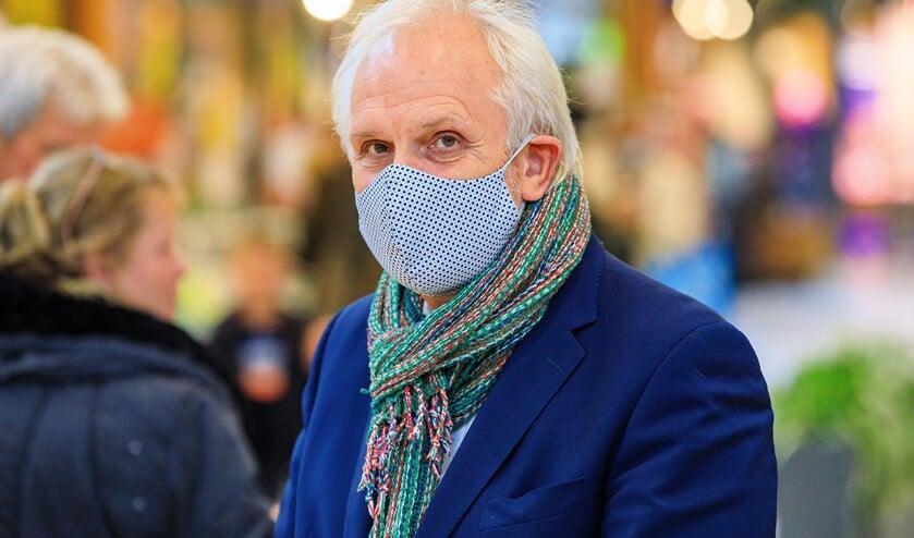 <p>Burgemeester Pieter Broertjes van Hilversum, voorzitter van de veiligheidsregio.</p>