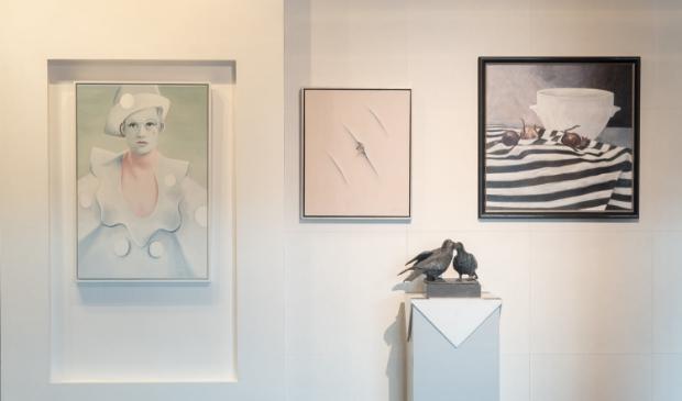 <p>De mooie kunstwerken zijn te bekijken en ook te koop. </p>